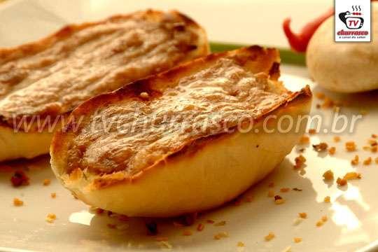 Sanduíche de Carne Moída de Frango