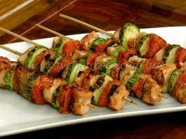 Kebabs de Frango