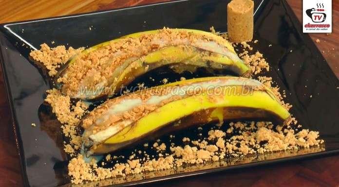 Banana com Paçoca