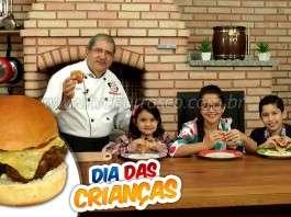 Churrasco de Hambúrguer para Crianças