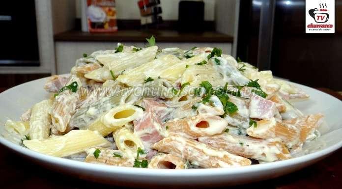 Como Fazer Salada de Macarrão (Macarronese)