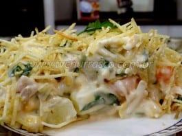 Como Fazer Salada de Maionese com Frango para Churrasco