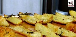Como Fazer Batatas Rústicas com Ervas