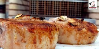 Como Fazer Lombo Suíno com Alho (Churrasco de Lombo de Porco)