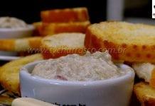 Como Fazer Patê de Salame com Ricota