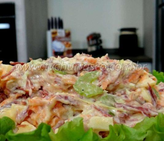 Como Fazer Salpicão com Carne Seca