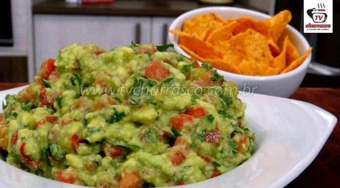Como Fazer Guacamole (Guacamole Receita Fácil)