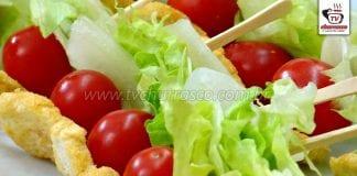 Como Fazer Salada Caesar no Palito