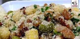 Como Fazer Farofa de Abacaxi com Lombo e Tomate Seco