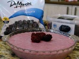 Como Fazer Mousse de Amora - De Marchi