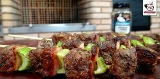 Como Fazer Espeto Gourmet (Espeto de Coxão Mole com Salsão)