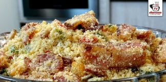 Como Fazer Farofa de Bacon para Churrasco