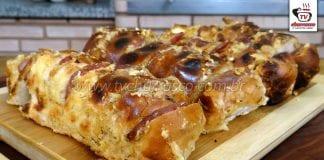 Como Fazer Pão de Alho e Calabresa