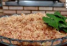Como Fazer Paçoca de Carne Seca