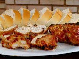 Como Fazer Chicken Barbecue (Frango com Barbecue)