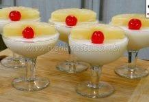 Como Fazer Sobremesa de Abacaxi em Caldas (Sobremesa Rápida)