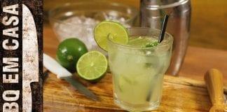 Caipirinha - Drinks para seu Churrasco! - BBQ em Casa