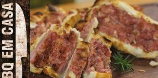 Receita de Pão com Linguiça (Entrada/Aperitivo) - BBQ em Casa