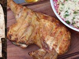 Receita de Frango Injetado na Manteiga com Sal de Bacon - BBQ em Casa