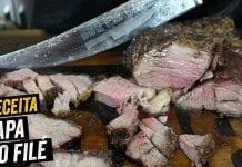 Receita de Capa do Filé na Brasa - BBQ em Casa