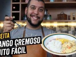 Frango Cremoso Muito Fácil - Almoço Rápido - BBQ em Casa