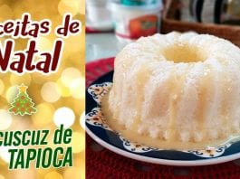 Cuscuz De Tapioca Feat. Carol Conquista | Receitas De Natal - BBQ em Casa
