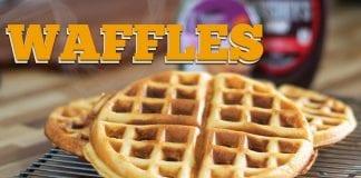 Waffles (Como Fazer Massa De Waffles Americanos) - Cansei de Ser Chef