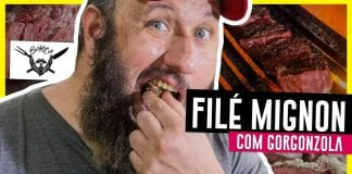 Filé Mignon com Gorgonzola - Barbaecue