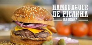 Hambúrguer de Picanha na Churrasqueira - Churrasqueadas