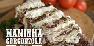Maminha ao Molho Gorgonzola - Churrasqueadas