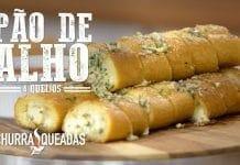 Pão de Alho 4 Queijos - Churrasqueadas