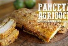 Panceta Agridoce e Batata Rústica - Churrasqueadas