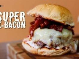 X-Bacon Três Queijos - Hambúrguer Gourmet (Só Que Não) - Canal Rango