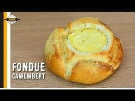 Pão Italiano com Queijo Camembert Derretido - Fondue Rápido - Canal Rango