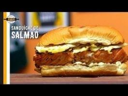 Sanduíche de Salmão - Canal Rango