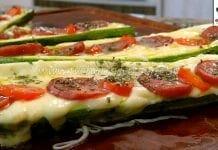Como Fazer Abobrinha Pizza
