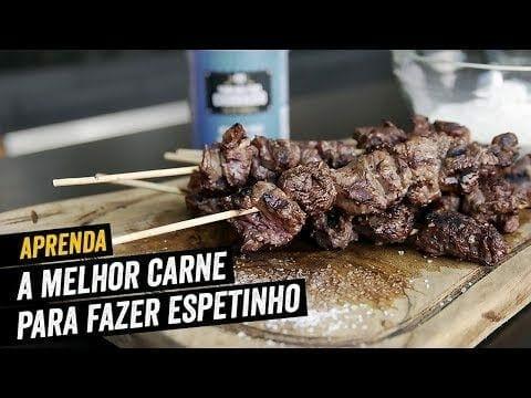 A Melhor Carne para fazer Espetinho - Ganhe Dinheiro - BBQ em Casa