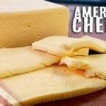 Como Fazer American Cheese - Queijo Fundido - Receita em Português - Canal Rango