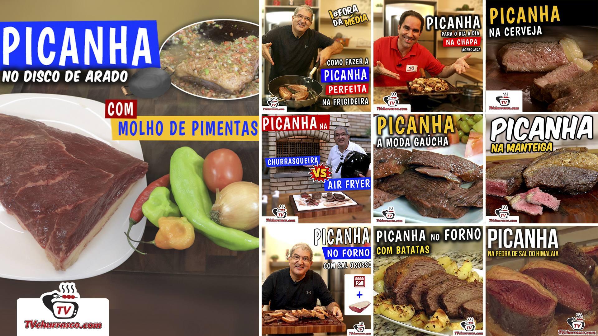 Receitas Especiais de Picanha Tv Churrasco